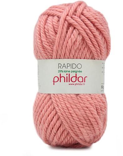 Phildar Rapido 1155 Rose-des-Sables