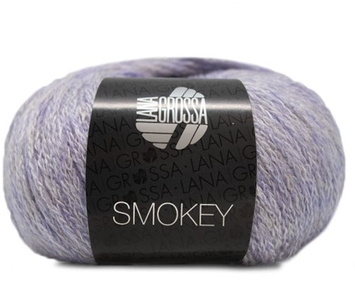 Lana Grossa Smokey 213 Pastel Petrol / Light Grey