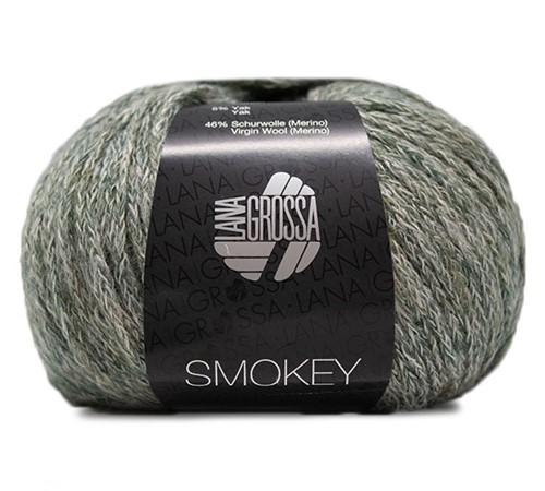 Lana Grossa Smokey 216 Grey-Green / Black-Green / Nature