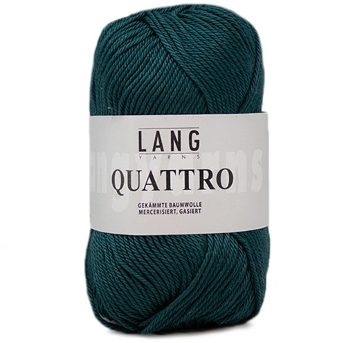 Lang Yarns Quattro 218 Bottle Green