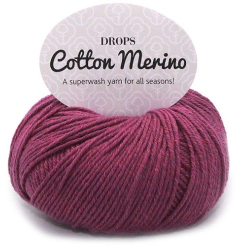 Drops Cotton Merino Uni Colour 21 Heather