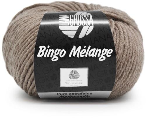 Lana Grossa Bingo Melange 220 Taupe Mottled