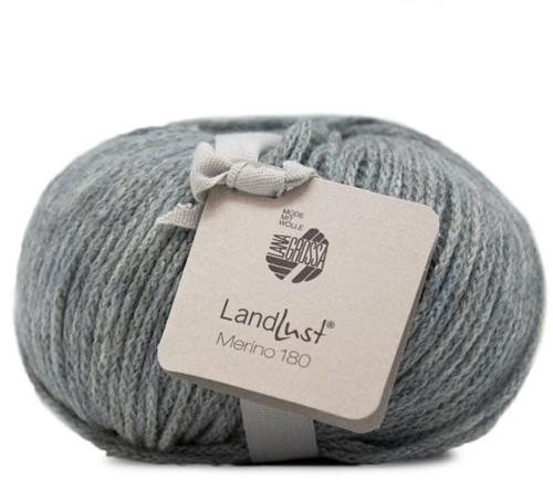 Lana Grossa Landlust Merino 180 225 Blue/Grey