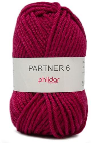 Phildar Partner 6 2275 Framboise