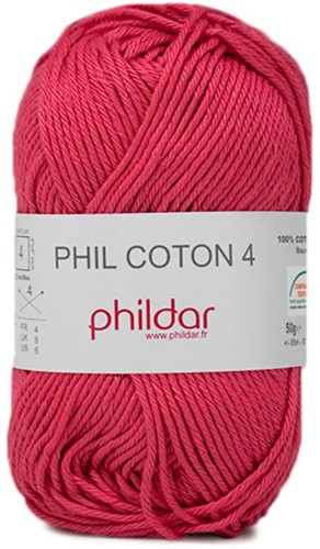 Phildar Phil Coton 4 2275 Pink