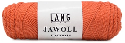 Lang Yarns Jawoll Superwash 228 Salmon