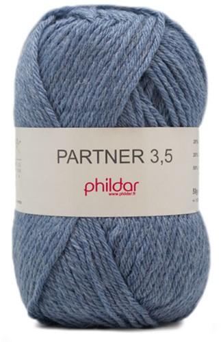 Phildar Partner 3.5 2297 Jeans Chiné