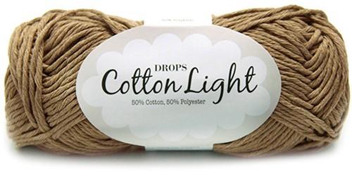 Drops Cotton Light Uni Colour 22 Brown