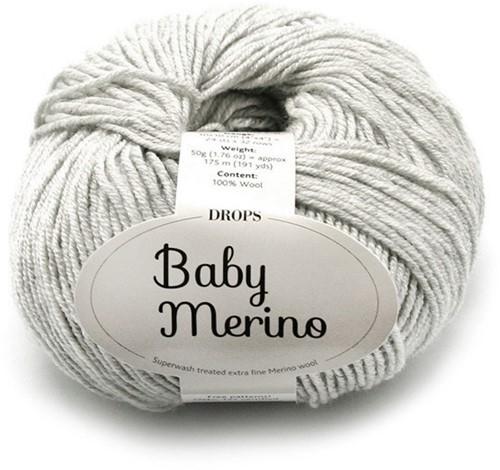 Drops Baby Merino Mix 22 Light-grey