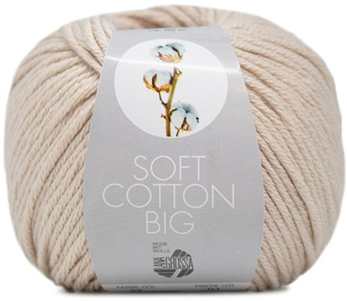 Lana Grossa Soft Cotton Big 22 Beige