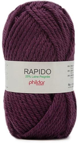 Phildar Rapido 2349 Aubergine