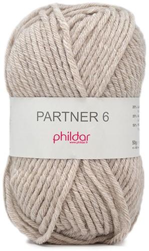 Phildar Partner 6 2369 Naturel Chiné