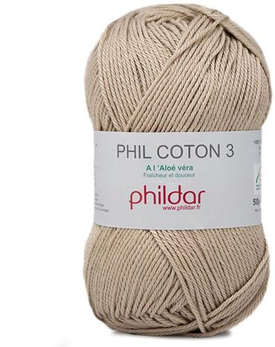 Phildar Phil Coton 3 2369 Dune
