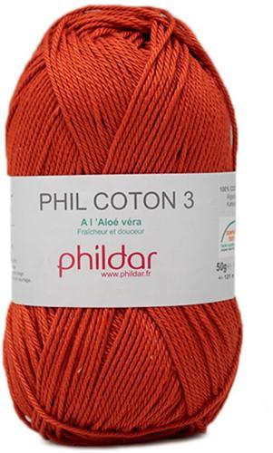 Phildar Phil Coton 3 2396 Carotte