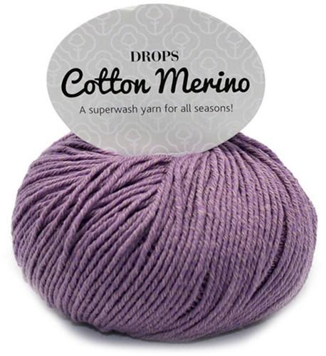 Drops Cotton Merino Uni Colour 23 Lavender