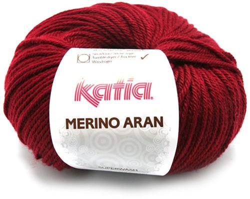 Katia Merino Aran 23 Dark maroon