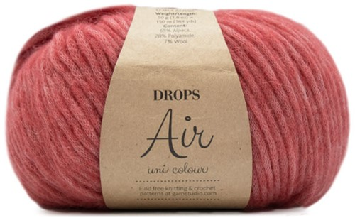 Drops Air Uni Colour 23 Coral Reef
