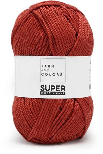 Yarn and Colors Bobbles Comfy Cushion Crochet Kit 023 Brick