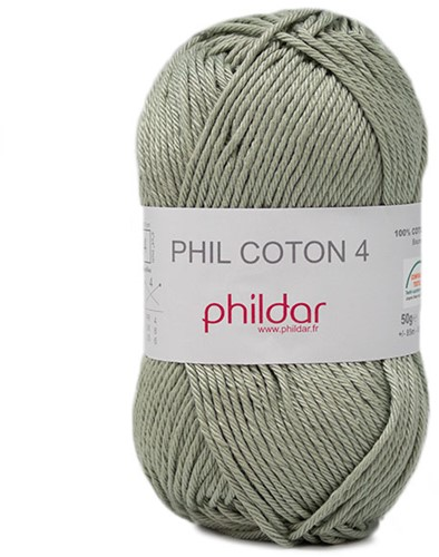 Phildar Phil Coton 4 2415 Tilleul