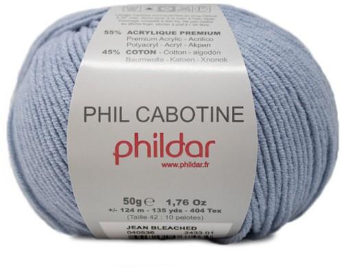 Phildar Phil Cabotine 2433 Jean Bleached