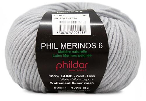 Phildar Phil Merinos 6 2447 Perle