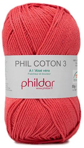 Phildar Phil Coton 3 2460 Pasteque