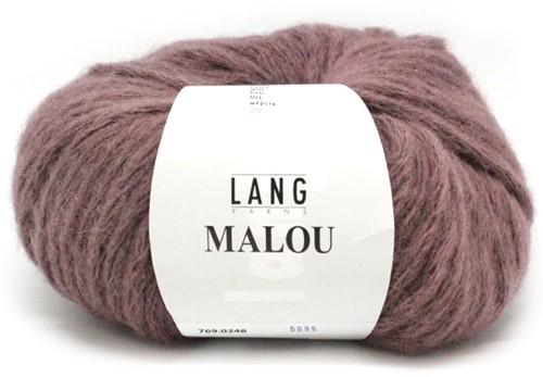 Lang Yarns Malou 248 Dark Old Pink
