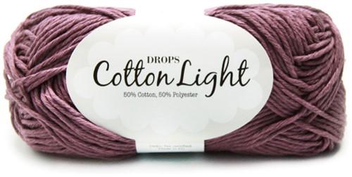 Drops Cotton Light Uni Colour 24 Grape