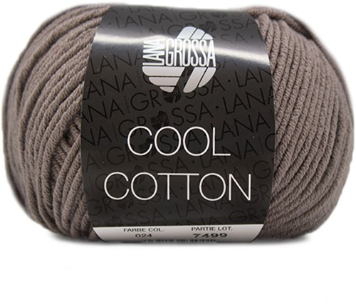 Lana Grossa Cool Cotton 24 Taupe