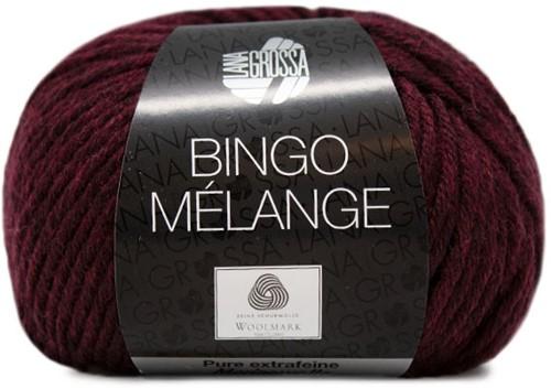 Lana Grossa Bingo Melange 254 Burgundian Mottled