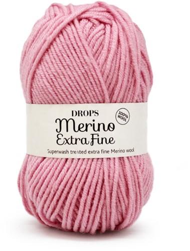 Drops Merino Extra Fine Uni Colour 25 Pink