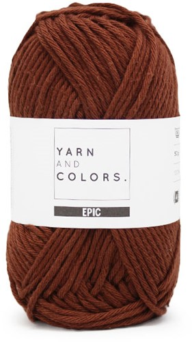 Yarn and Colors Epic 025 Brownie
