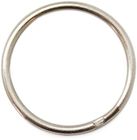 Split Key Ring Metal 25