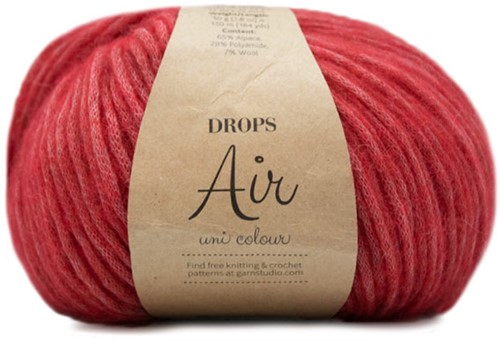 Drops Air Uni Colour 25 Raspberry
