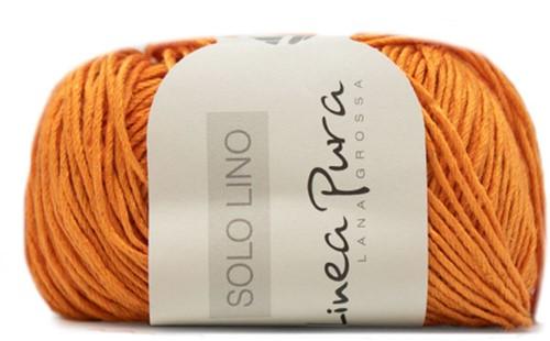 Lana Grossa Solo Lino 025 Orange
