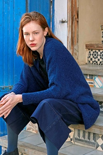 Knitting Pattern Set Sail Cardigan