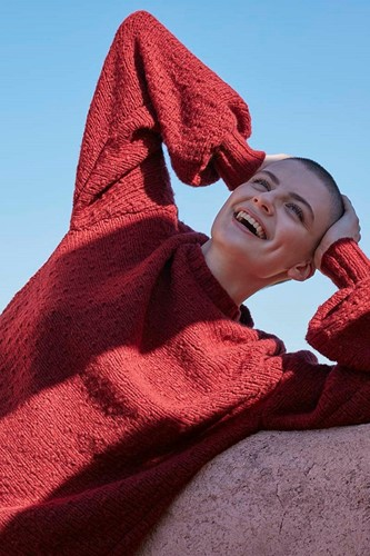 Knitting Pattern Laugh Lots Sweater