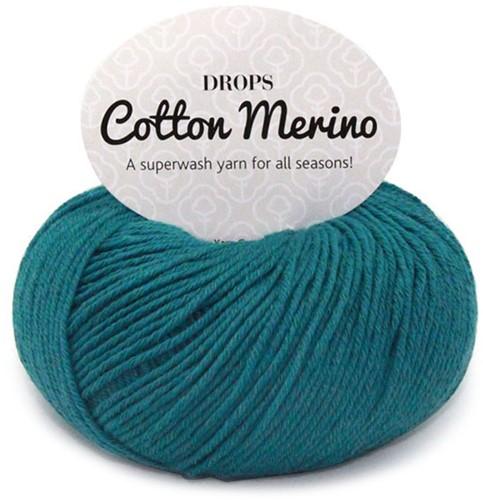 Drops Cotton Merino Uni Colour 26 Storm Blue