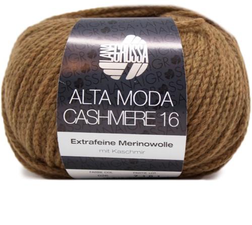 Lana Grossa AM Cashmere 16 26 Mustard-Brown
