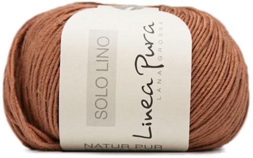Lana Grossa Solo Lino 026 Cinnamon