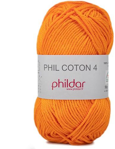 Phildar Phil Coton 4 2740 Mandarine