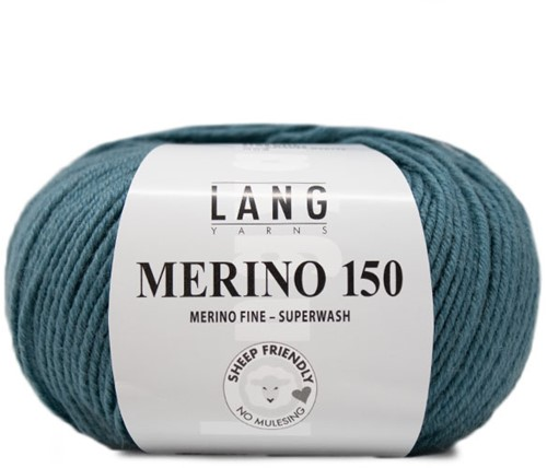 Lang Yarns Merino 150 274 Atlantic