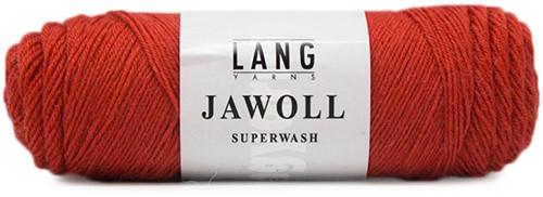 Lang Yarns Jawoll Superwash 275 Brown-Orange