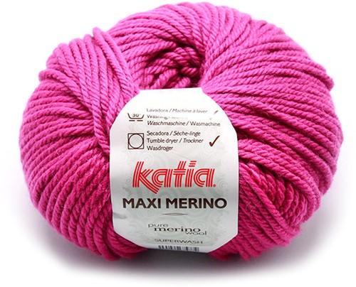 Katia Maxi Merino 27 Dark fuchsia