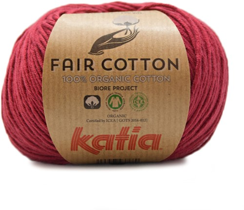Katia Fair Cotton 27 Maroon