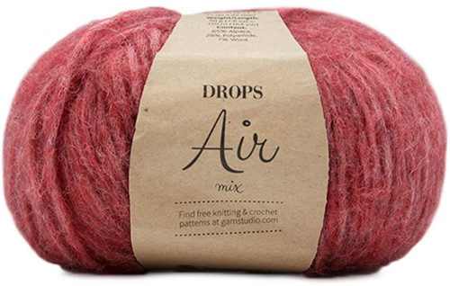 Drops Air Mix 28 Stone Red