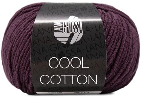 Lana Grossa Cool Cotton 28 Aubergine