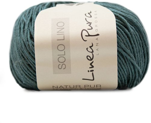 Lana Grossa Solo Lino 028 Parel Opal Green