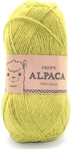 Drops Alpaca Uni Colour 2916 Dark Lime