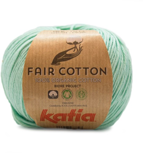 Katia Fair Cotton 29 Pastel Green
